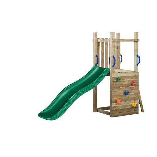 SwingKing speeltoestel Irma met glijbaan 1,75m groen