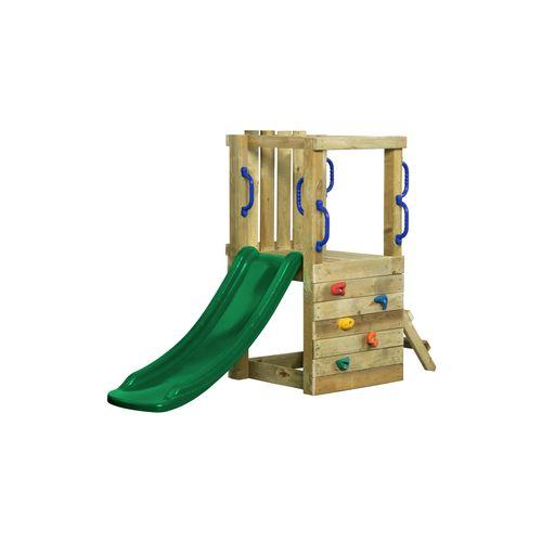 SwingKing speeltoestel Irma met glijbaan 1,2m groen