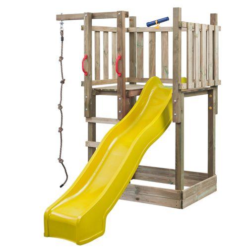 SwingKing speeltoren Mario met glijbaan 2,5m geel