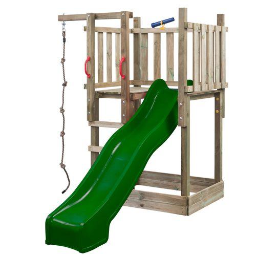 SwingKing speeltoren Mario met glijbaan 2,5m groen