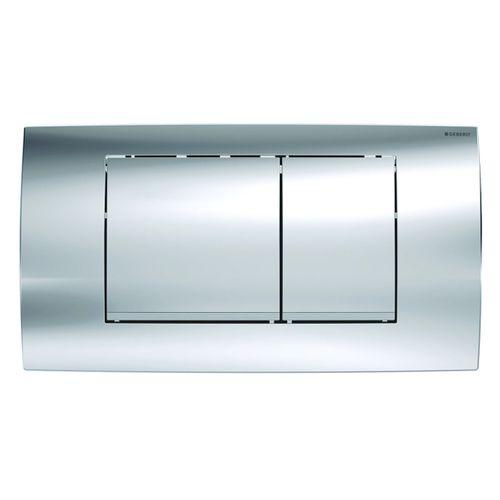 Geberit bedieningspaneel Twinline 30 voor inbouwreservoir 340x185x32mm glanzend chroom