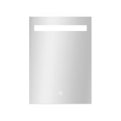 Miroir Portland rectangle avec éclairage led et capteur tactile 70x50cm