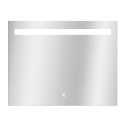 Miroir Portland rectangle avec éclairage led et capteur tactile 70x90cm