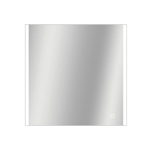 Miroir Grant carré avec éclairage LED capteur tactile et miroir chauffant 60x60cm