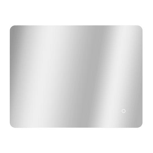 Miroir Renzo rectangle avec éclairage LED capteur tactile et miroir chauffant 70x90cm