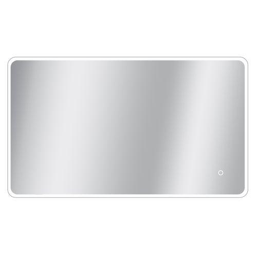 Miroir Renzo rectangle avec éclairage LED capteur tactile et miroir chauffant 70x120cm