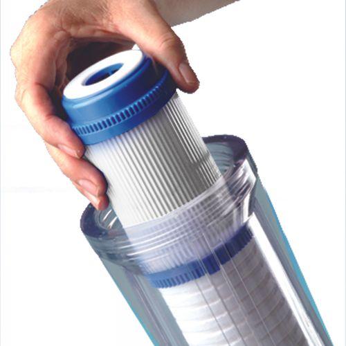 Double cartouche pour filtre robinet Van Marcke O'Pure