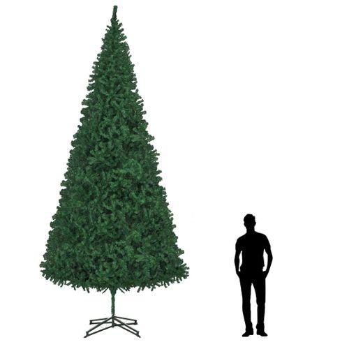 VidaXL kunstkerstboom PVC groen 500cm
