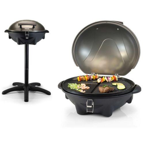 Tristar elektrische tafelbarbecue BQ2816 zwart 2200W