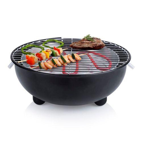 Tristar elektrische tafelbarbecue BQ2880 zwart 1250W
