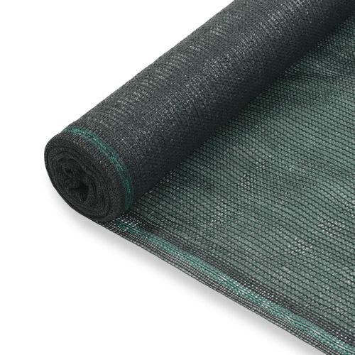 VidaXL tennisscherm 2x100m HDPE groen
