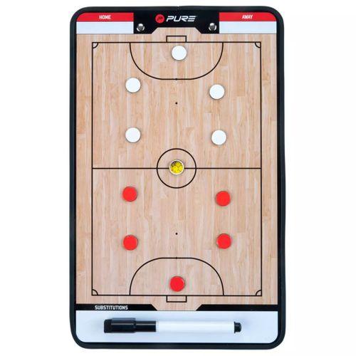 Pure2Improve coach-bord dubbelzijdig zaalvoetbal 35x22 cm P2I100650