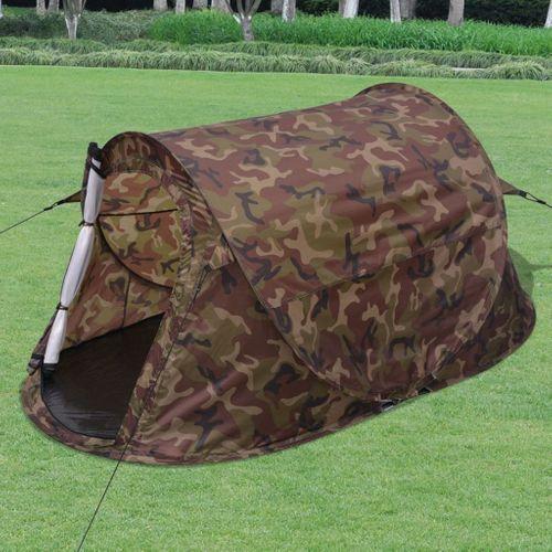 VidaXL tent pop-up 2-persoons camouflage