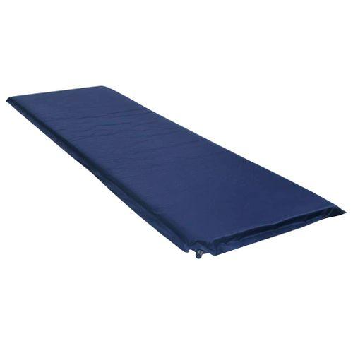 VidaXL luchtbed opblaasbaar 66x200cm blauw