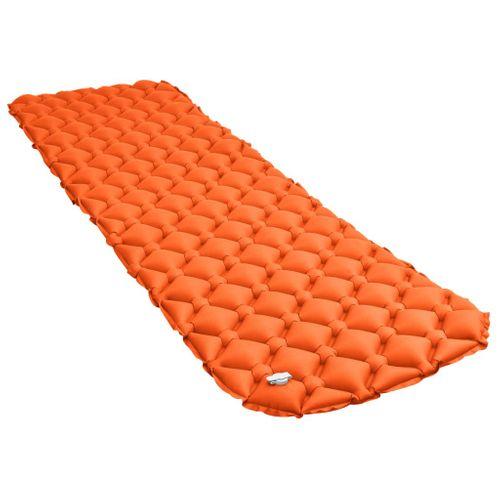 VidaXL luchtbed opblaasbaar 58x190cm oranje