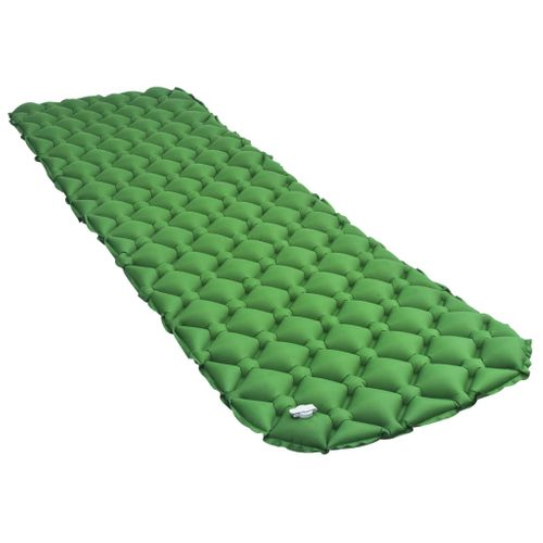 VidaXL luchtbed opblaasbaar 58x190cm groen