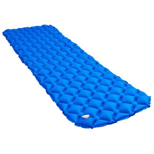 VidaXL luchtbed opblaasbaar 58x190cm blauw
