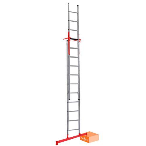 Smart Level Pro schuifladder 2x14-treeds