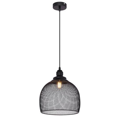 Globo hanglamp Anya 28 zwart E27