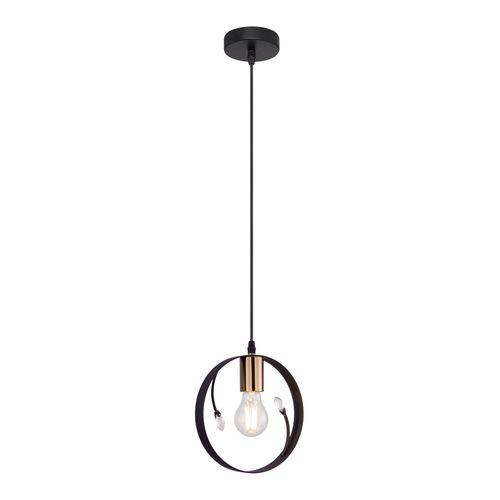 Globo hanglamp Vigo zwart E27