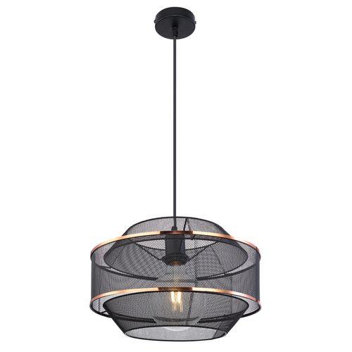Globo hanglamp Bellona 35 zwart E27
