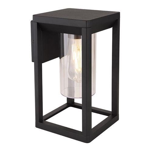Globo wandverlichting Candela zwart E27