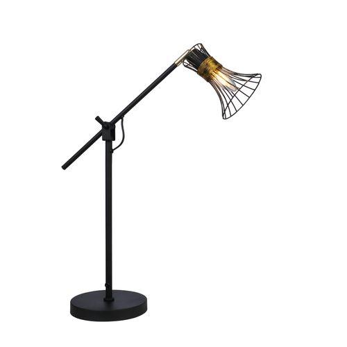 Globo tafellamp Purra zwart E14