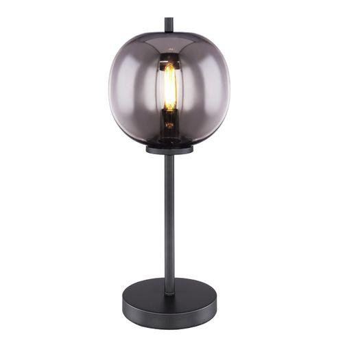 Globo tafellamp Blacky zwart E14
