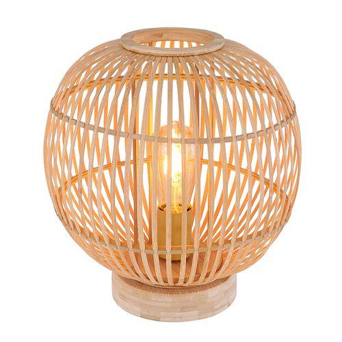Globo tafellamp Hildegard 46 naturel E27