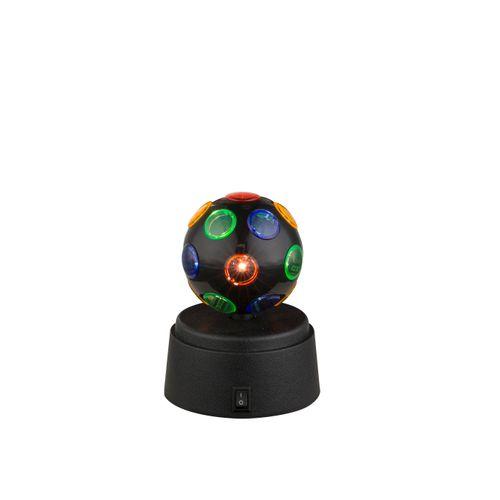 Globo tafellamp LED Disco zwart 0,06W
