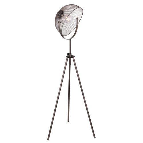 Globo vloerlamp Moniga metaal chroom E27