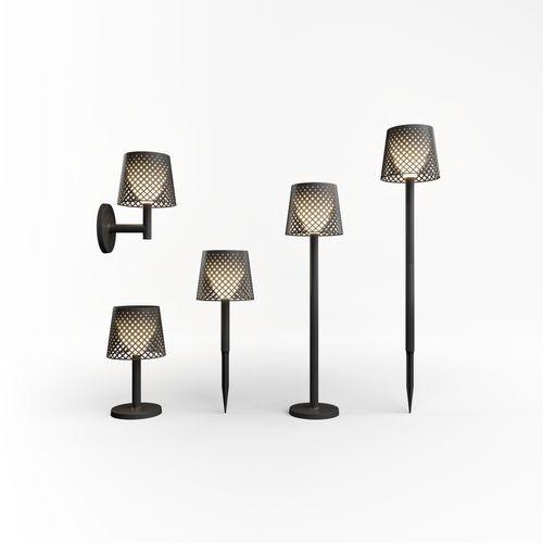 Newgarden wandlamp Greta zwart solar 5in1