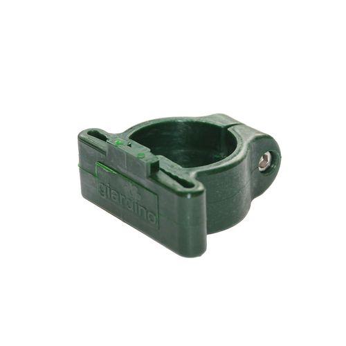 Hoekklem plastiek profielpaal 48mm RAL 6005 groen