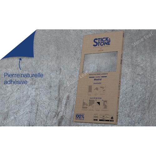 StoneLeaf wandpaneel Stick&Stone Madrid 30x60cm