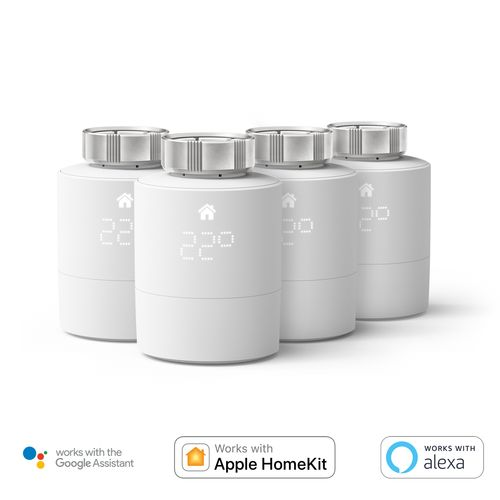 Tado slimme radiator thermostaat 4-Pack wit