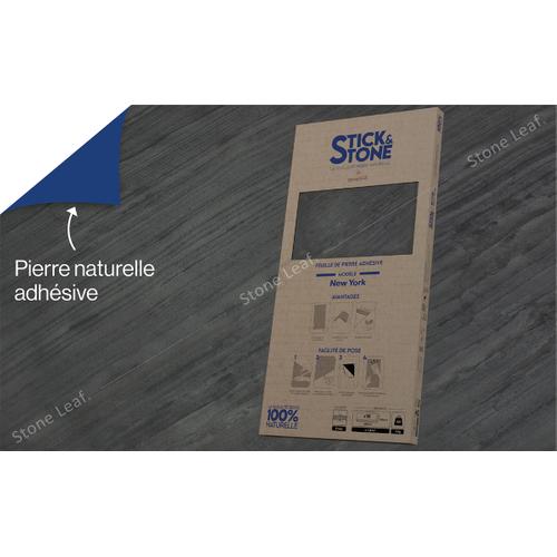StoneLeaf wandpaneel Stick&Stone New York 30x60cm