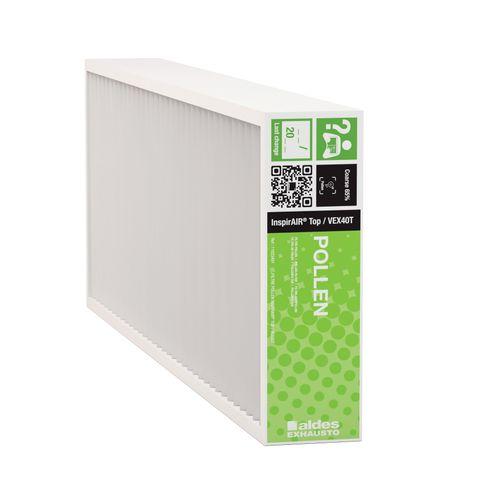 1 filter pollen  voor voor Aldes InspirAIR® Top