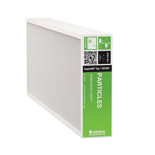 1 filter stofdeeltjes voor Aldes InspirAIR® Top