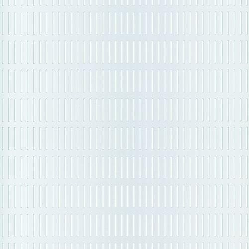 GAH Alberts spleet geperforeerde plaat aluminium geëloxeerd 500x250x0,8mm