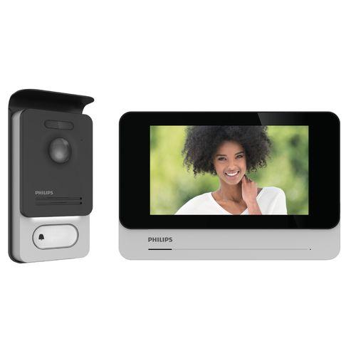 Philips videointercom WelcomeEye Connect2 touchscreen 130° kijkhoek
