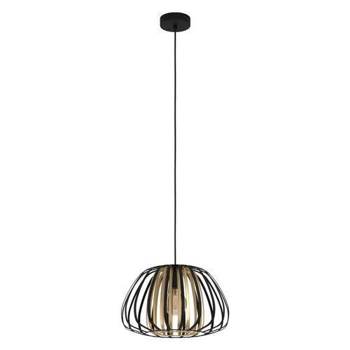 Eglo hanglamp Encinitos 1XE27 zwart 375mm