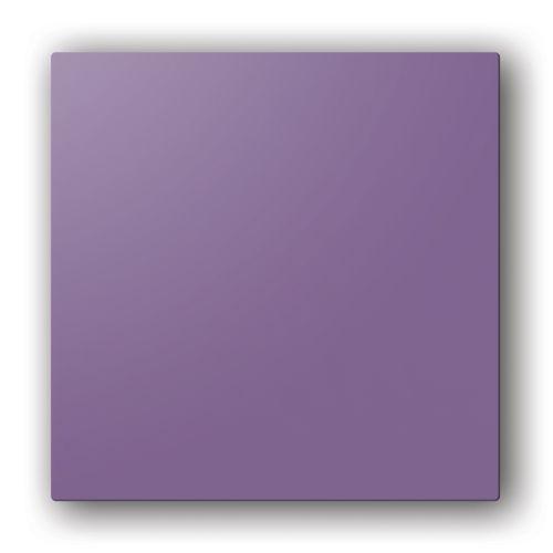 Designplaat voor de Aldes ColorLINE® rooster Ø80 of Ø125mm pruimkleur