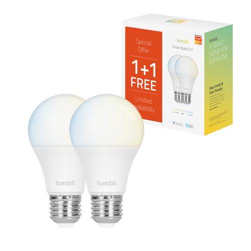 Hombli ledlamp Smart bulb CCT 9W E27 Promo Pack