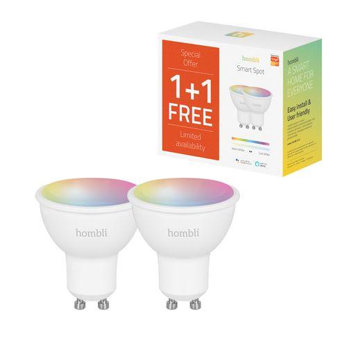 Hombli ledspot Smart Spot RGB+CCT 5W GU10 Promo Pack
