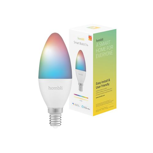 Hombli kaarslamp Smart Bulb RGB+CCT 4,5W E14 Promo Pack