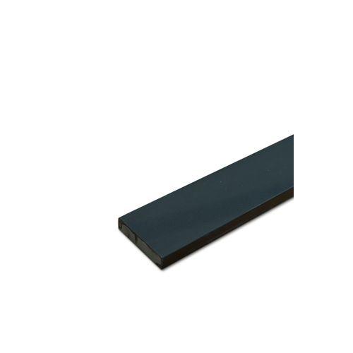 Seuil de porte pierre Essentials gris foncé 20x1030x120mm