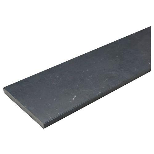 Appui de fenêtre pierre de taille gris foncé 150x20cm