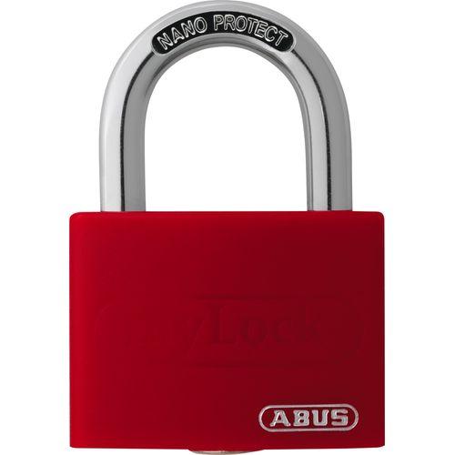 Abus hangslot met sleutel in aluminium T65AL/40 40x62mm
