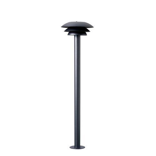 Dyberg Larsen sokkellamp DL20 outdoor mat zwart G9 20W