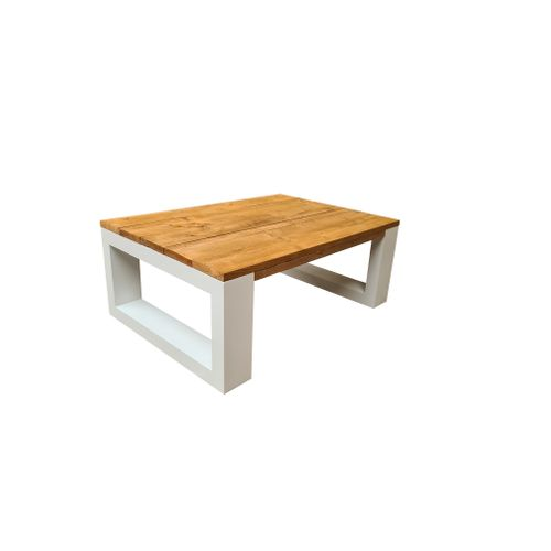 Table basse Wood4You New Orleans Roastedwood 120x90x43cm